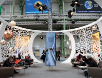 The Morocco Pavilion in the Grand Palais / COP21